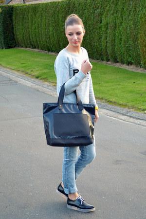 Marc by Marc Jacobs bag - Mango sweatshirt