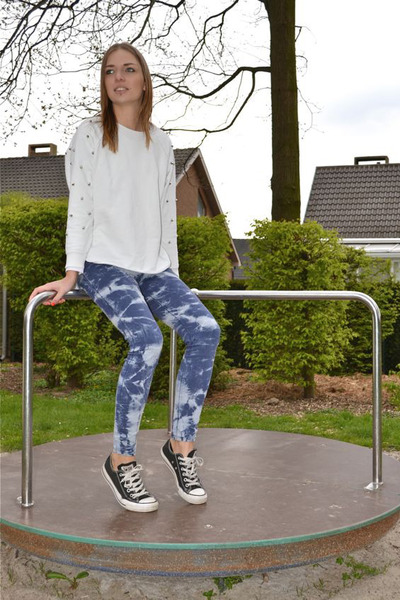 OASAP sweater - Converse shoes - OASAP pants