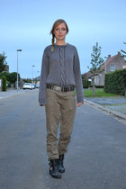 Mexx sweater - Amazon boots - Bershka pants