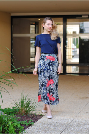 print & other stories skirt