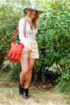 red fringed & other stories bag