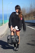 Forever 21 shoes - Lefties jacket - H&M skirt