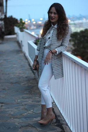 suiteblanco jacket - Zara heels