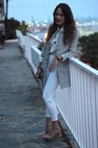 suiteblanco jacket - Zara heels