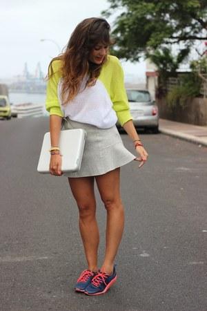 Zara skirt - Oysho sneakers