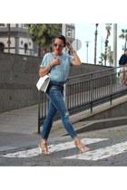Zara jeans - Zara blouse
