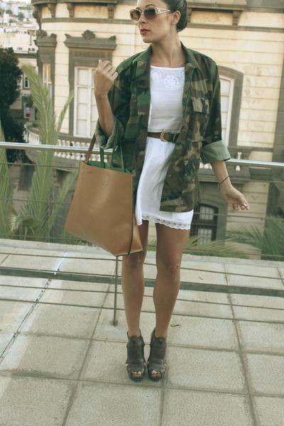 Zara dress - Aldo wedges