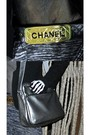 Black-shirt-black-forever-21-blazer-gray-pants-gold-chanel-belt-silver-b