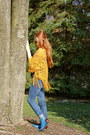 Glitter-homemade-boots-cuff-lucky-brand-jeans-fringe-forever-21-sweater