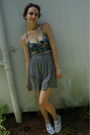 Blue-altered-by-me-bra-gray-target-skirt-blue-thrifted-keds-shoes-pink-tar