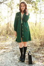 Green-httpstoresebaycomtwitchvintage-coat-black-satchel-thrifted-bag-black-c