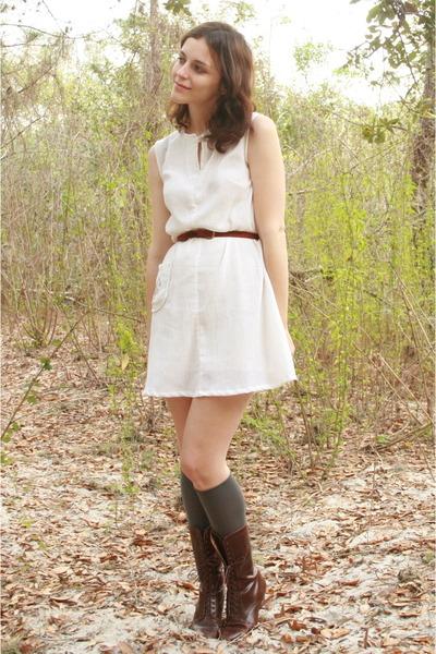 white httpstoresebaycomTwitchVintage dress