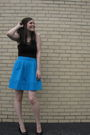 Blue-marc-by-marc-jacobs-skirt