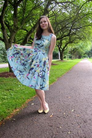 blue H&M dress