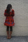 Orange-marc-by-marc-jacobs-dress