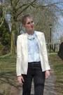 Black-h-m-jeans-off-white-primark-blazer-sky-blue-h-m-blouse