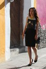 Steve-madden-shoes-studded-bag-bershka-bag-peplum-mango-skirt