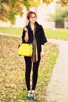 Missoni scarf - yellow leather VA bag