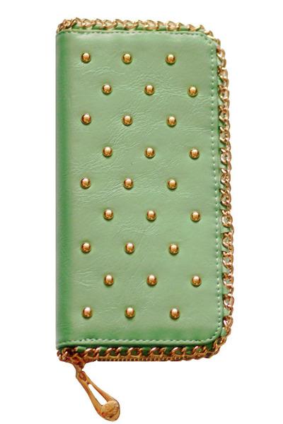 studded VA wallet