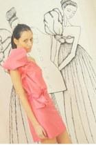 silk Boret dress