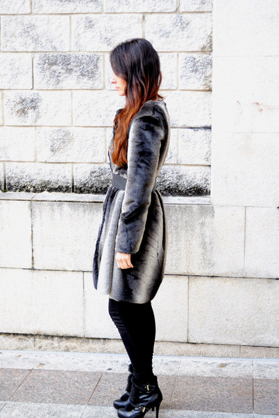faux fur Boüret coat