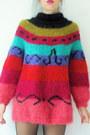 Vintage-i-magnin-jumper-platform-vintage-boots-suspender-topshop-tights