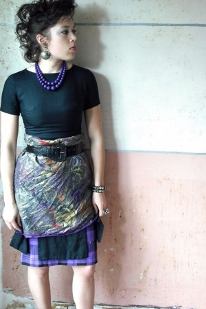Vintage I Magnin Black Dress