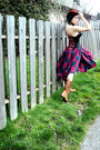 Lace-up-dr-martens-boots-plaid-viral-threads-skirt-corset-buckle-metro-cloth