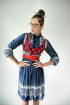 blue vintage from VIRAL THREADS dress