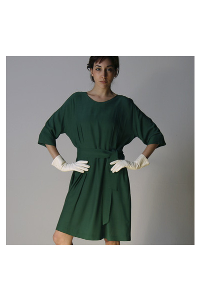 green Marni dress