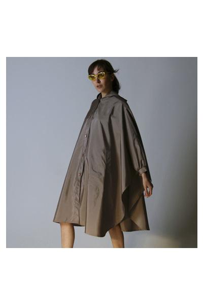 beige unknown brand coat