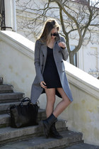Mango coat - Ebay shoes - Zara bag - Ebay sunglasses