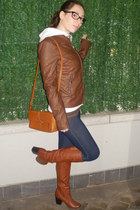 Oviesse boots - Calzedonia leggings - Zara bag