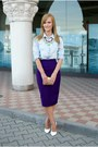 Bershka-shirt-nissa-bag-dorothy-perkins-skirt-depurtatro-heels