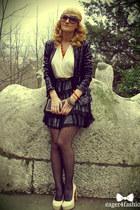 poema dress - Atmoshpere blazer - Orsay bag - Lust of Creation heels