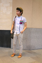 bench jeans - shoes - Penshoppe hat - bag - bench top