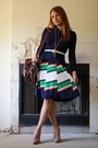 Tan-forever-21-shoes-navy-vantage-point-vintage-dress-brown-vantage-point-vi