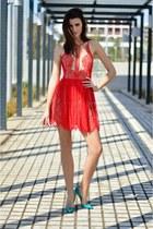 Styligion dress - Christian Louboutin heels