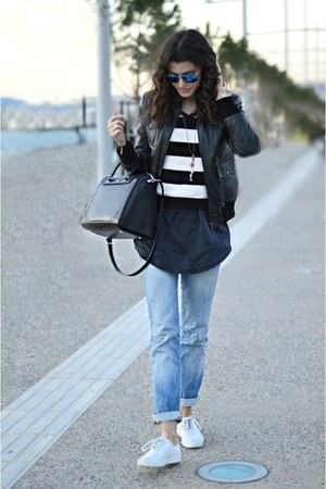 Diesel jeans - asos sweater - Alexander McQueen bag - Keds sneakers