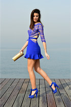 asos dress - Steve Madden heels