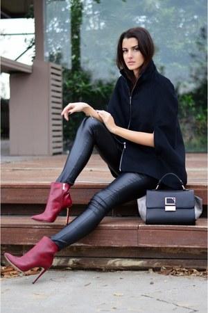 cape zini coat - Sante boots