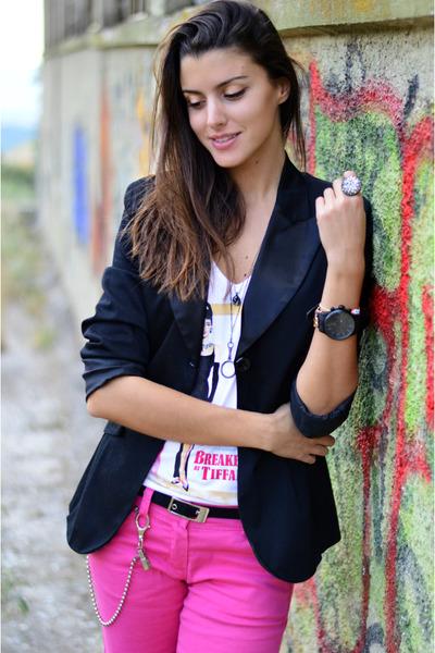 tuxedo hippocampe blazer - pink Cheap Monday jeans - mens Jacques Lemans watch