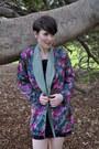 Vintage-blazer-vintage-dress