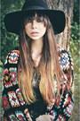Jett-platform-jeffrey-campbell-shoes-lace-miss-selfridge-dress-catarzi-hat