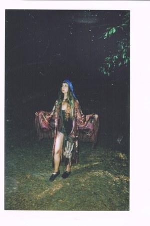 kimno velvet coco jacket - Spell and the Gypsy bag