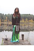 Bershka skirt - dreamweaver bag Spell and the Gypsy Collective bag