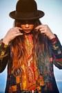 Vintage-floral-dr-martens-boots-vintage-hat-leather-vintage-jacket