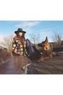 Vintage-hat-patchwork-jeffrey-campbell-boots-vintage-shirt