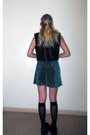 Black-nasty-gal-vest