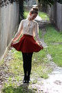 Leather-sandler-boots-windsmoor-shirt-fake-suede-angel-biba-skirt